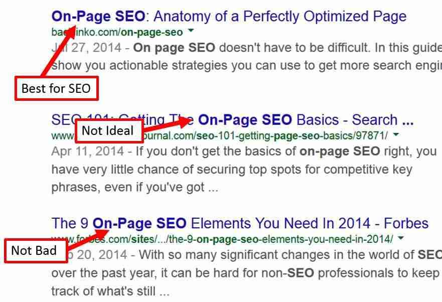 il tag title è importante per il posizionamento sui motori di ricerca