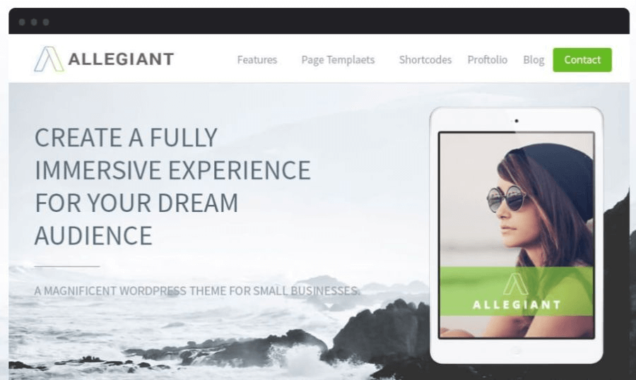 allegiant wordpress woocommerce