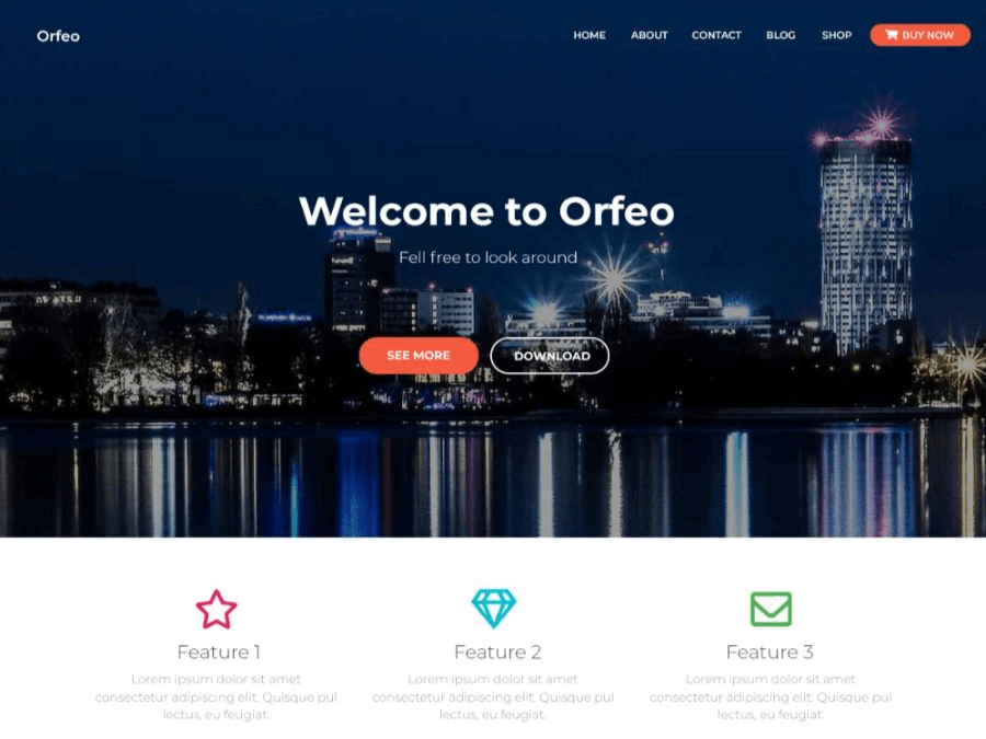 orfeo wordpress woocommerce