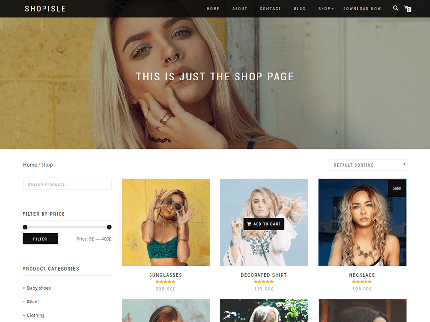 Shopisle wordpress woocommerce