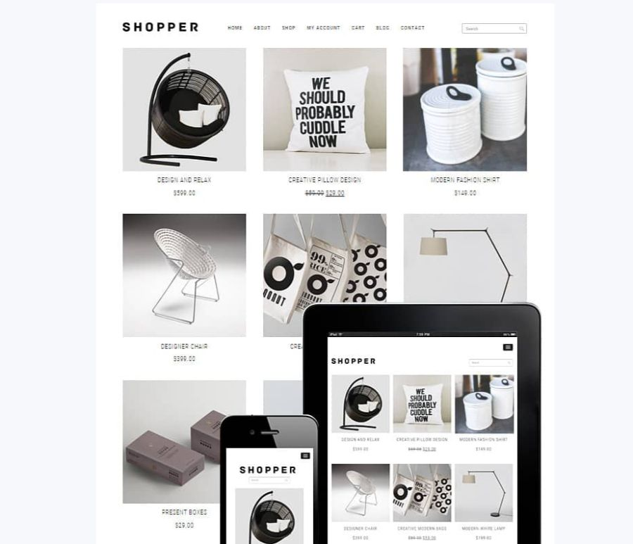 shopper wordpress woocommerce