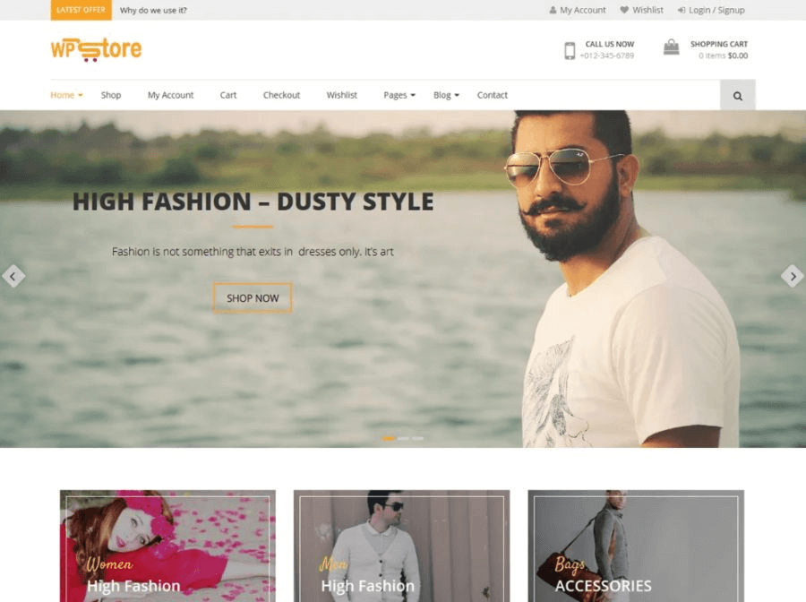wp store wordpress woocommerce